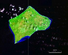 Photo satellitaire de Little Inagua