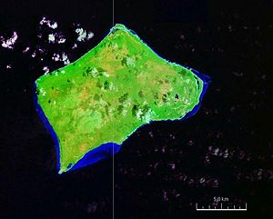 Satellitenbild von Little Inagua