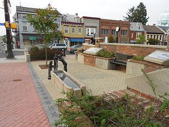 Littlestown, Pennsylvania - Image: Littlestown History Plaza 2