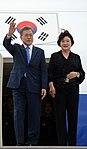 Llegada de Moon Jae-in, presidente de Corea del Sur (45190050065).jpg