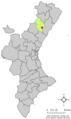 Localització de Costur respecte del País Valencià.png