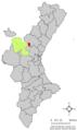 Localització de les Alcubles respecte del País Valencià.png