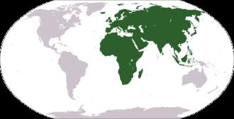 Old World - Image: Location Africa Eurasia