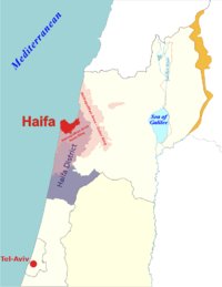 Location haifa