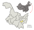 Location of Qitaihe Prefecture within Heilongjiang (China).png