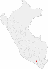 Location of the city of Arequipa in Peru.png