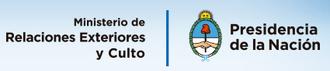 Ministry of Foreign Affairs and Worship - Image: Logo ministerio de relaciones