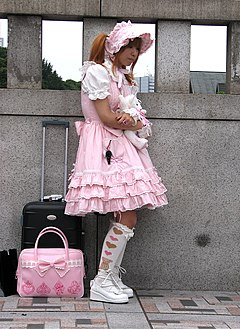 lolita fashion wikipedia bahasa indonesia ensiklopedia
