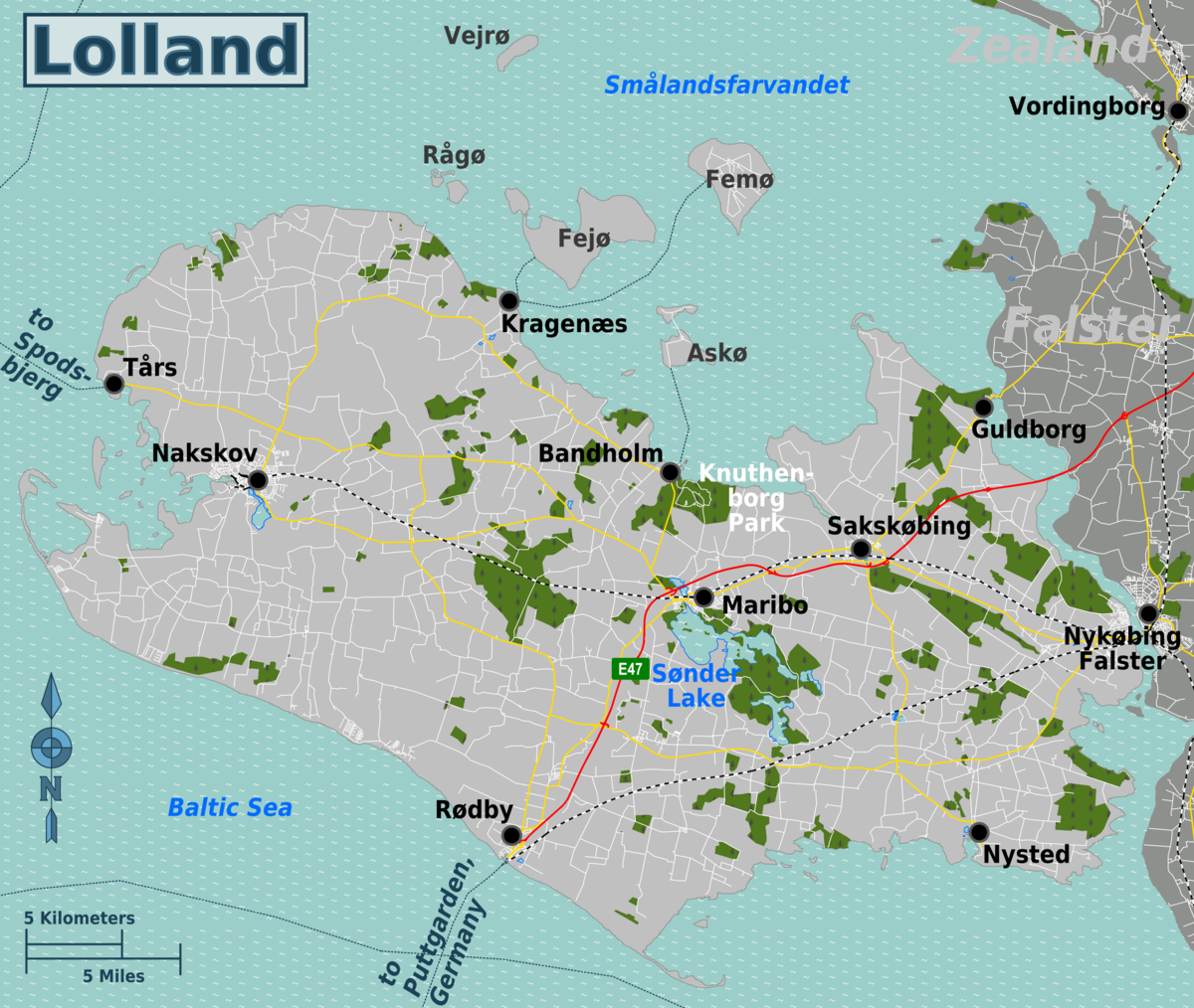 Lolland Travel Guide At Wikivoyage