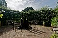 London - Kew Gardens - Secluded Garden 1995 by Anthea Gibson - View SSW on 7 Slate Towers by Daniel Harvey.jpg