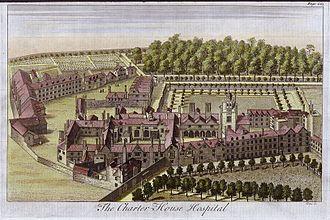 Henry Levett - Charterhouse Hospital, London