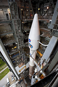 Look from above to the Atlas V (401) which is back in the VIF.jpg