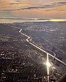 Los Angeles River Rio Hondo confluence aerial.jpg