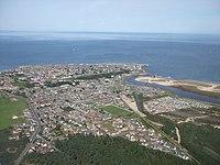 Lossiemouth Aerial Shot - geograph.org.uk - 936815.jpg
