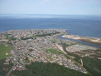 Lossiemouth - Image: Lossiemouth Aerial Shot geograph.org.uk 936815