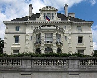 Lothrop Mansion - Image: Lothrop Mansion facade