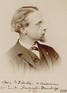 Louis-Albert Bourgault-Ducoudray French Breton composer