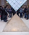 Louvre museum's inverted pyramid (cropped).jpg