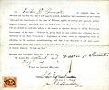 Loyalty oath of Walker N. Shumate of Missouri, County of St. Louis.jpg