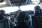 Lt. Col. Jackson and Lt. Col. DeLatour talking with Adm. Haney 140416-Z-ZV673-204.jpg