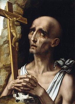 Luis de Morales - San Jerónimo en el desierto (National Gallery of Ireland)
