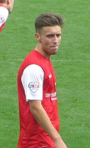 Luke O'Neill - O'Neill playing for York City in 2013