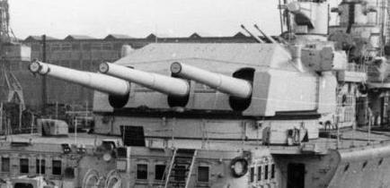 Lutzow rear turret