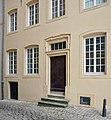 Luxembourg City – rue Wiltheim – house entrance.jpg
