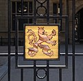 Luxembourg Grand Ducal Palace coat of arms Lion.jpg