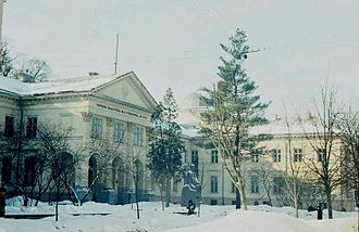 Ossolineum - Lviv's edifice of former Ossolineum today, renamed as Vasyl Stefanyk Library