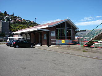Lyttelton railway station - Lyttelton station building.