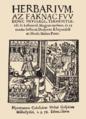 Méliusz Juhász Péter – Herbarium (Kolozsvár, 1578).webp