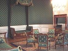 Ludwigs Geburtszimmer in Schloss Nymphenburg (Quelle: Wikimedia)