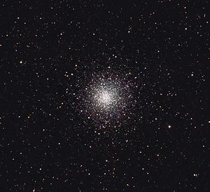 Messier 10 - Messier 10 with amateur telescope