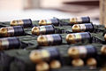 M203 High Explosive rounds await firing during small unit leadership training at range 109, Marine Air Ground Combat Center Twentynine Palms, Calif., June 11, 2013 130611-M-KL428-046.jpg