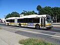 MBTA route 28 bus on Blue Hill Avenue, September 2012.jpg