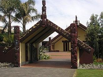 Manukau Institute of Technology - Image: MIT Marae