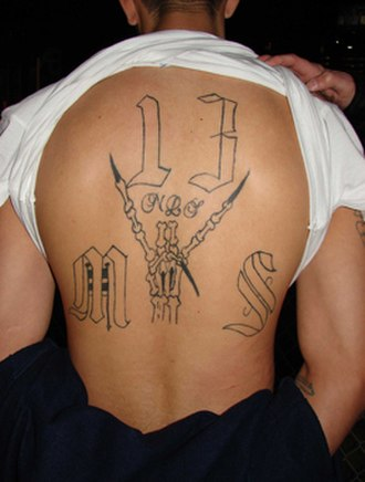 Gangs in the United States - A member of Mara Salvatrucha