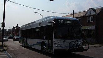 Route 46 (MTA Maryland) - Image: MTA MARYLAND 11040