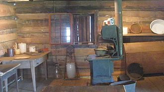 Germantown Colony and Museum - Kitchen at Germantown Museum