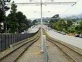 M Ocean View tracks on 19th Avenue, July 2017.JPG