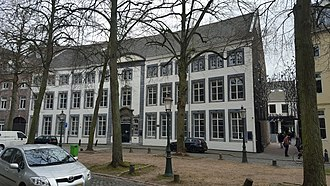 Maastricht University - Former poorhouse at Grote Looiersstraat, part of the inner city library