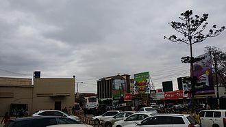 Machakos - One of Machakos' busiest areas, Ngei Road.