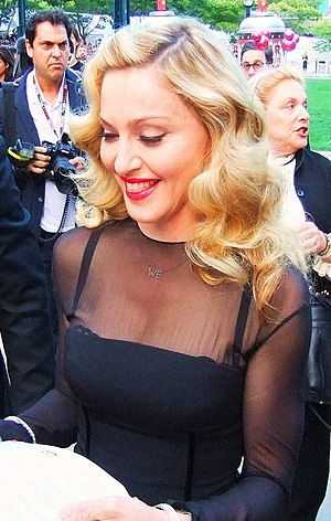 English: Madonna, the original Material Girl, ...
