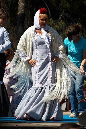 Aprender idiomas: Chulapa. Fiestas de San Isidro 2007, ...