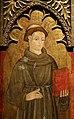 Maestro della madonna della misericordia di venosa, ss. antonio da padova e chiara, 1475-1500 ca. (genzano di lucania, m. ss.ma delle grazie) 02.jpg