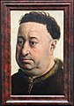 Maestro di flemalle, ritratto d'uomo paffuto, 1430-40 ca.JPG