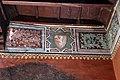 Maestro lombardo, puttini tra alberi con cartigli, finti drappeggi e stemmi araldici, 1423, 20.jpg