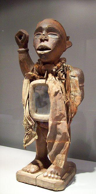 Mayombe - Fetish with mirror from Mayombe