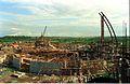 Main Auditorium Under Construction - Convention Centre Complex - Science City - Calcutta 1994-10-17 095.JPG